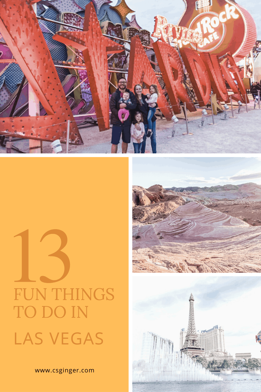 13 Fun Things to See in Las Vegas, Nevada - CS Ginger